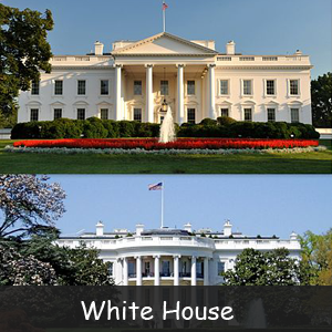 Famous American Monuments- Image of White House