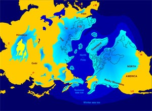 The First Americans- Image of Ice Age