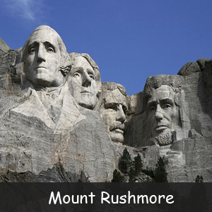 Famous American Monuments - Image of Mount Rushmore