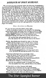 Image of Star Spangled Banner