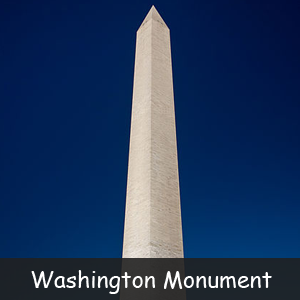 Famous American Monuments - Image of Washington Monument