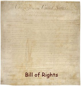 Fact about amendments to the constitution - Image of Bills of Right
