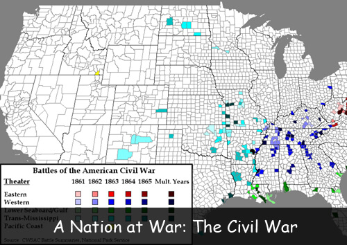 A Nation at War: The Civil War