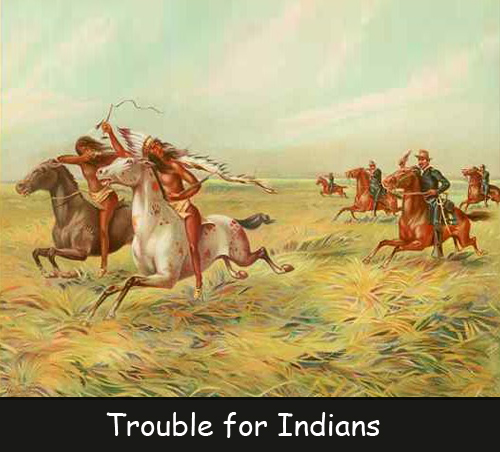 Trouble for Indians