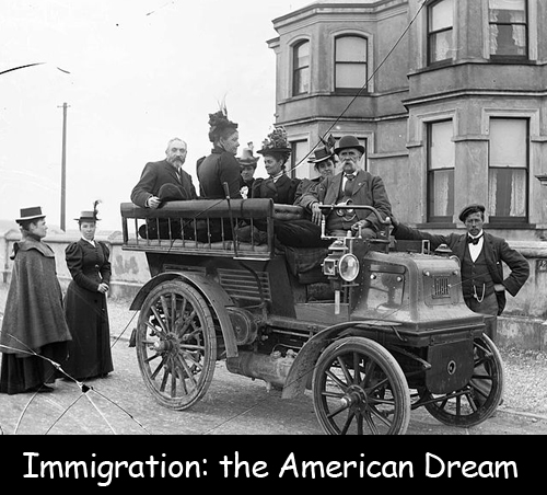 Immigration: the American Dream
