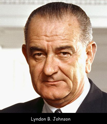 Lyndon B. Johnson Leads the Country after Kennedy's Death