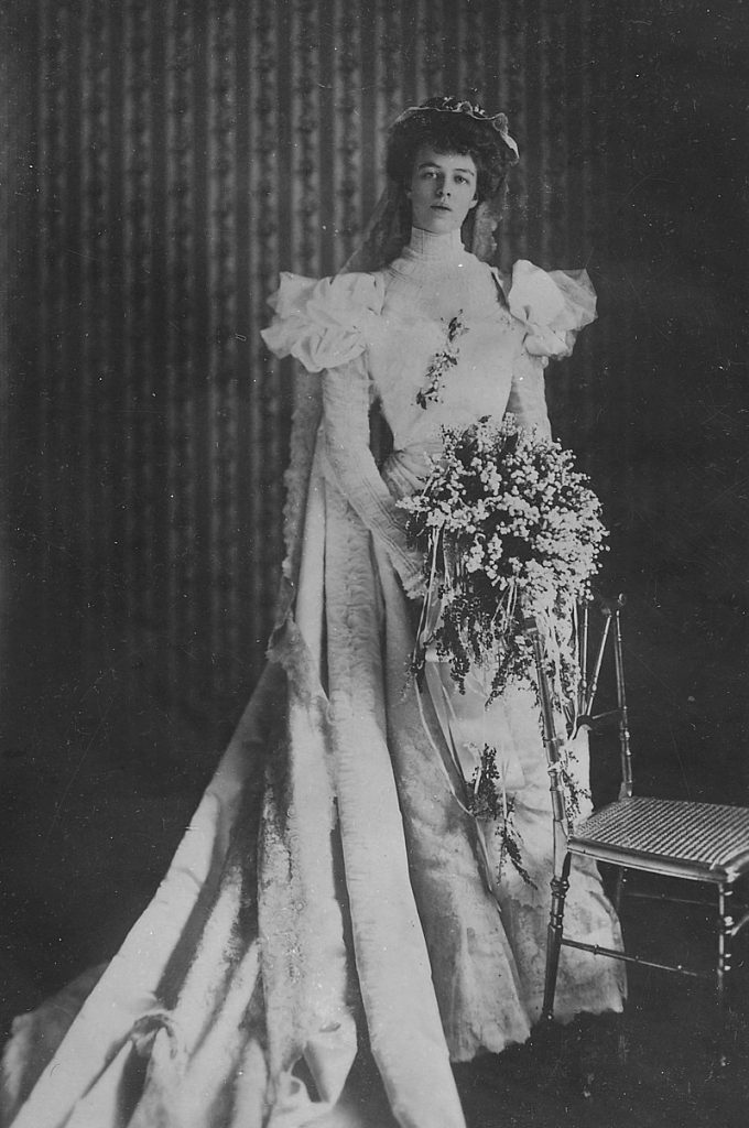 Eleanor Roosevelt In Her Wedding Dress |Eleanor Roosevelt Wedding