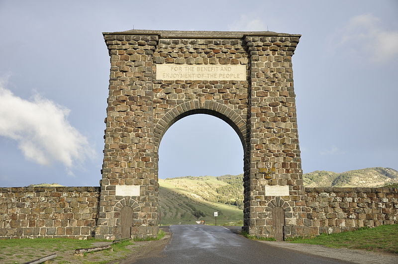 Yellowstone North Gate